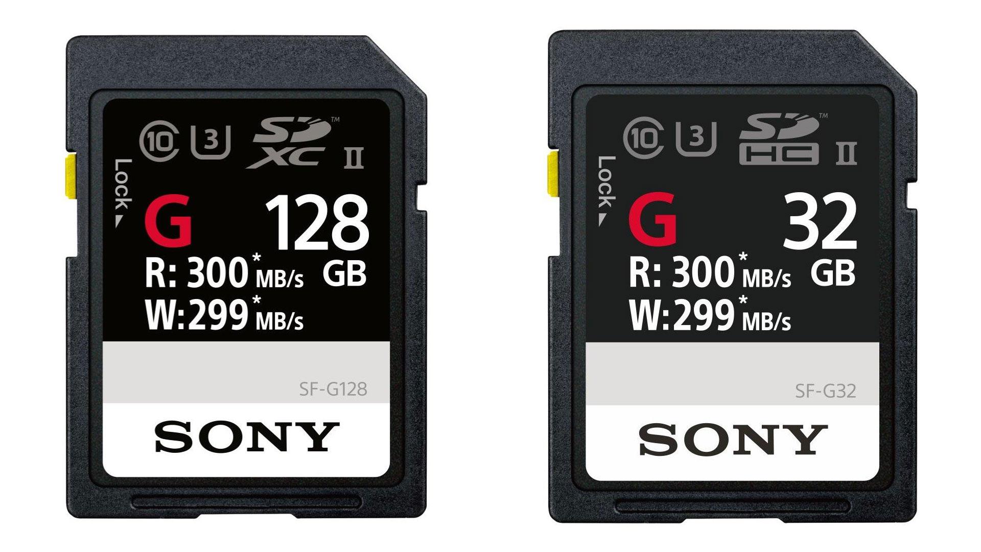 ソニーが世界最速のSDカードを発表
