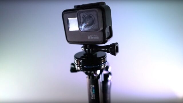 Action camera adapter