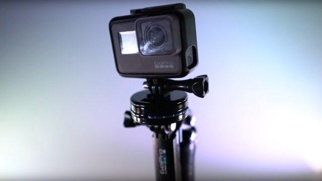 Action camera adapter