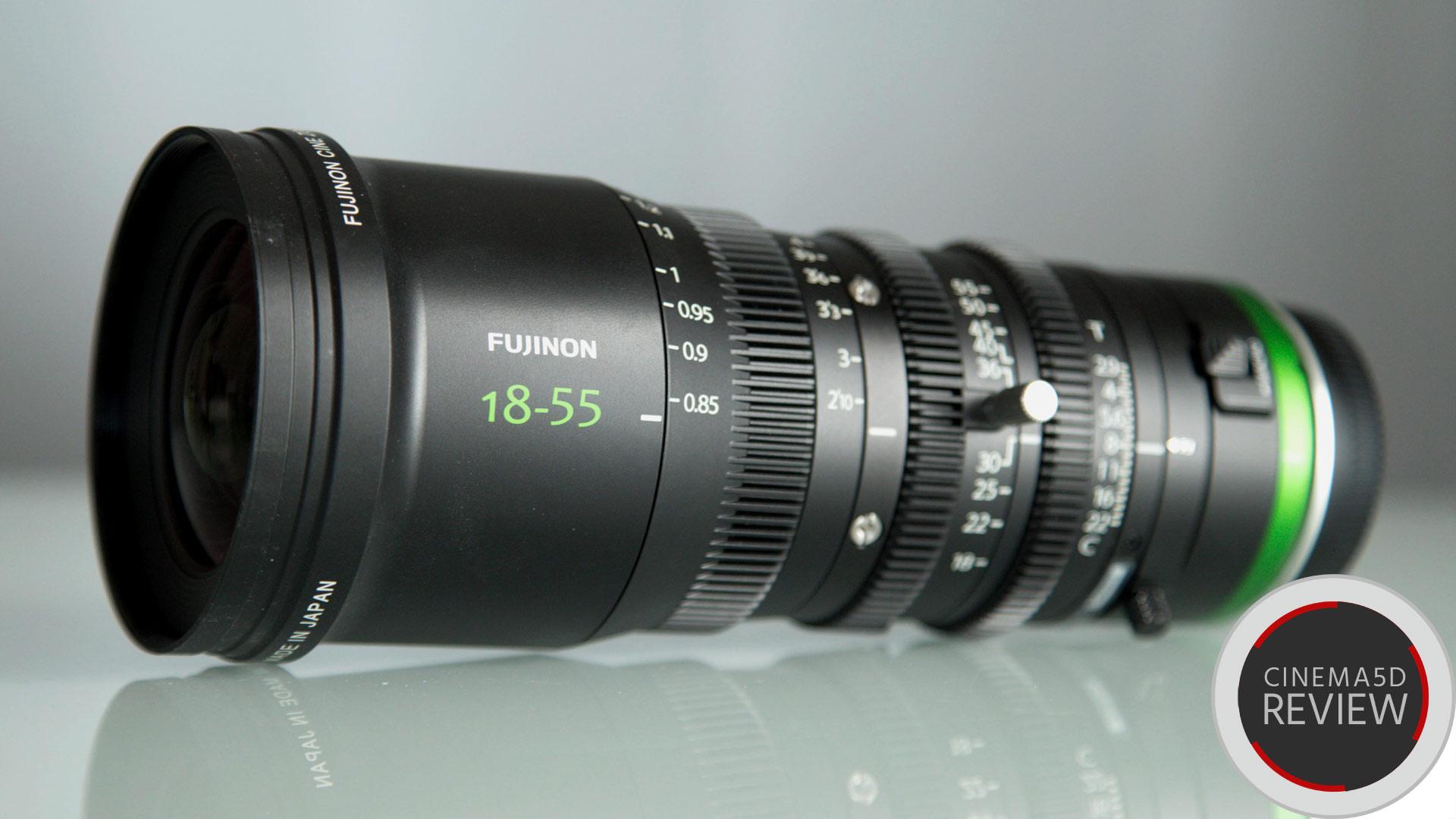 Reseña técnica del lente FUJINON MK18-55mm - El nuevo Zoom Cine E-Mount en el laboratorio