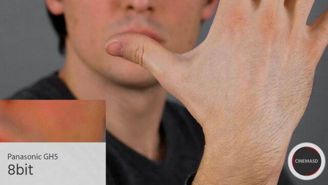 Panasonic GH5 Skin Tones - Minimal Grading, 8bit