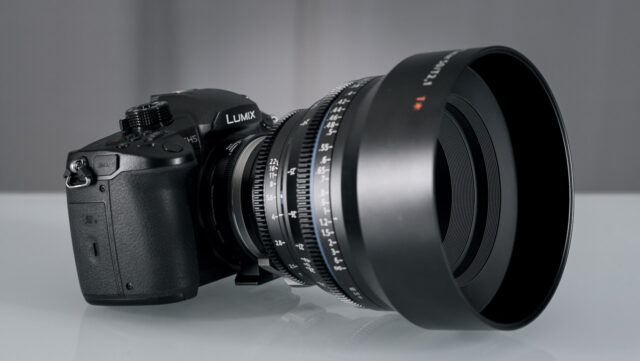 Panasonic GH5 with a Speedboster Ultra and the Zeiss 50mm Cp2 Macro Lens