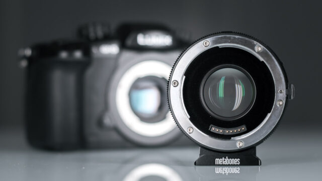 Panasonic GH5 and Metabones Speedbooster Ultra