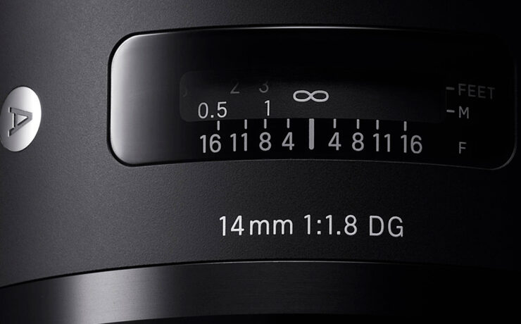 SIGMA Introduces World's First Full Frame 14mm F1.8 Lens + 3 More ART Lenses