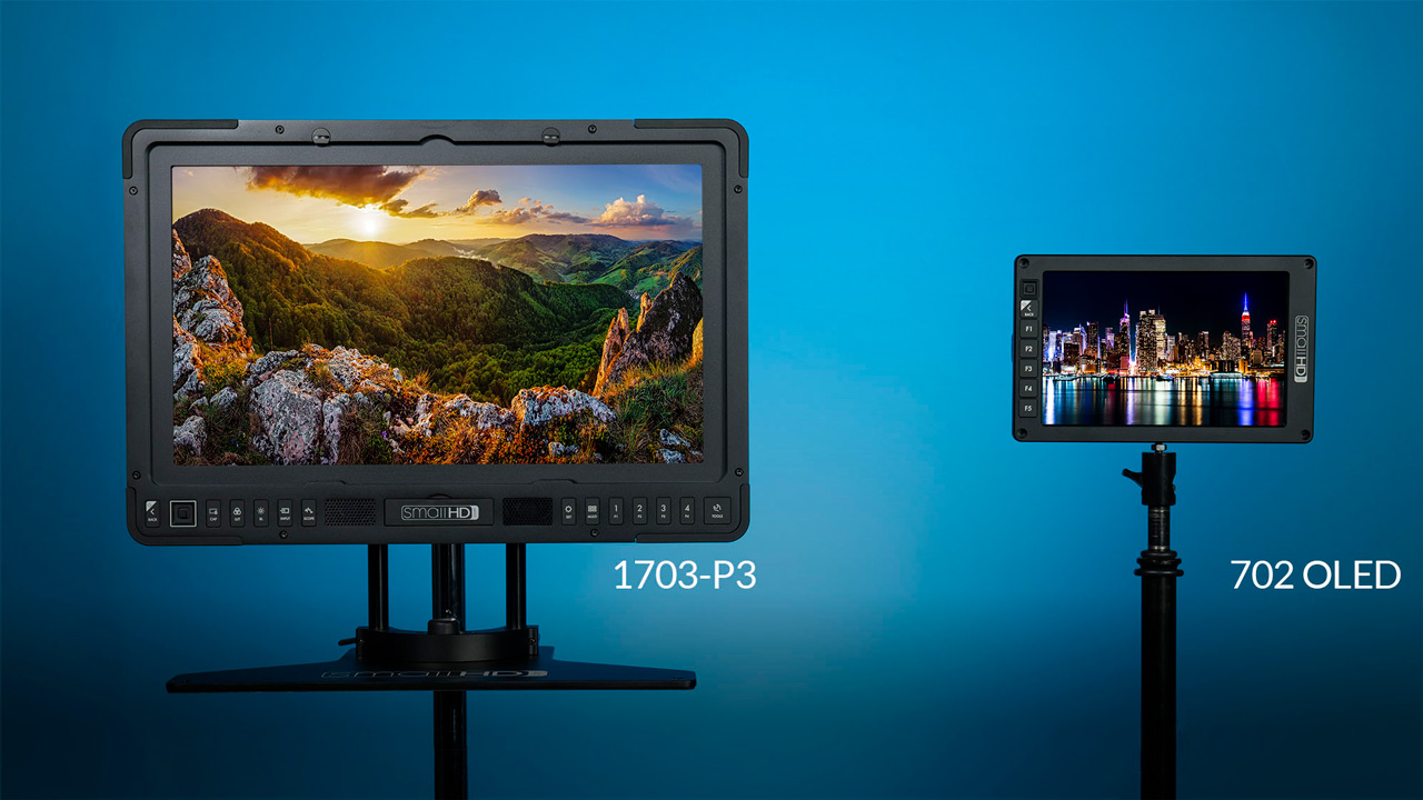 SmallHD Announces 702 OLED Field Monitor & Its First Reference Grade  Monitor 1703-P3