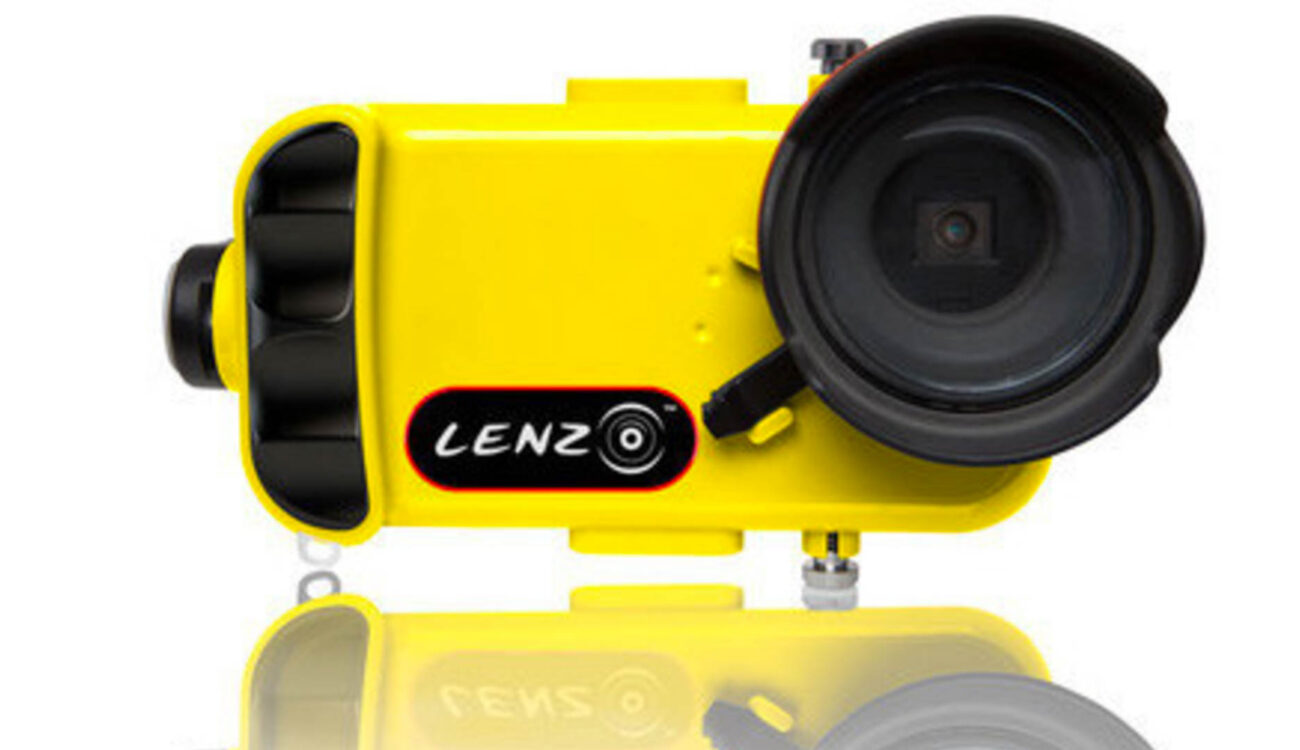 Lenzo Underwater Housing - Full Control of Your iPhone Underwater