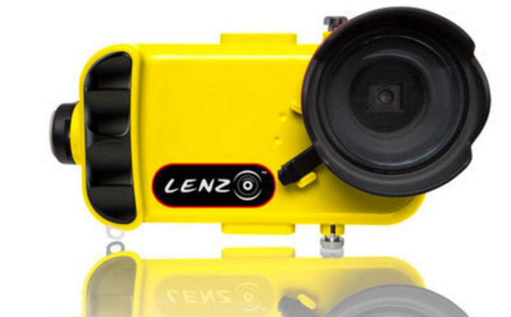 Lenzo Underwater Housing - Full Control of Your iPhone Underwater