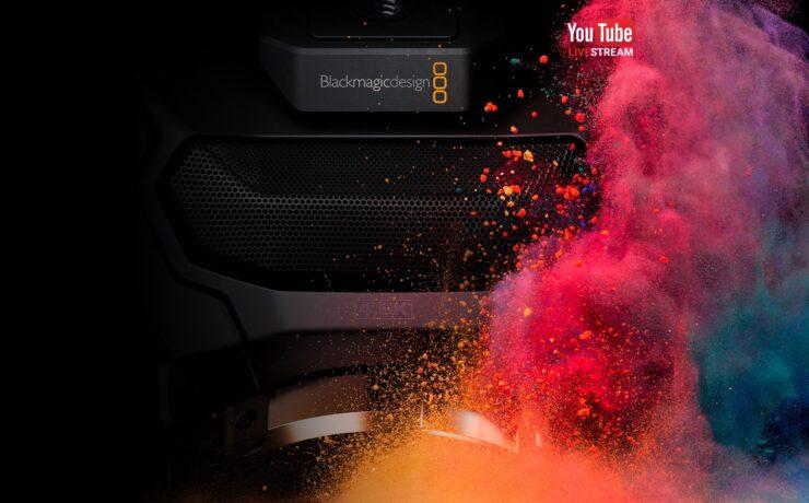 "Blackmagic Live Stream ""Camera and DaVinci Resolve"" Press Conference"