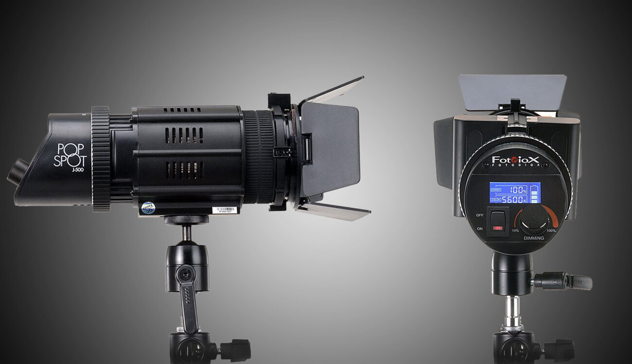 PopSpot J-500 LED - Fotodiox Introduces Pocket-Sized Fresnel Lights