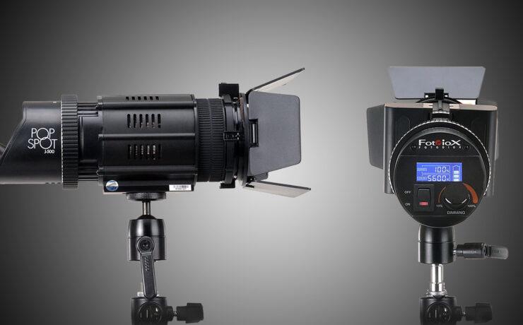 PopSpot J-500 LED - Fotodiox Introduces Pocket-Sized Fresnel Lights