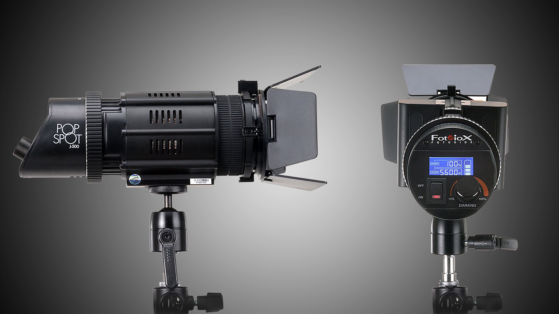 FotodioxがPopSpot J-500 小型LED照明を発表