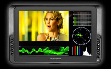 "New Marshall 7"" On-Camera Monitor V-LCD70W-SH"