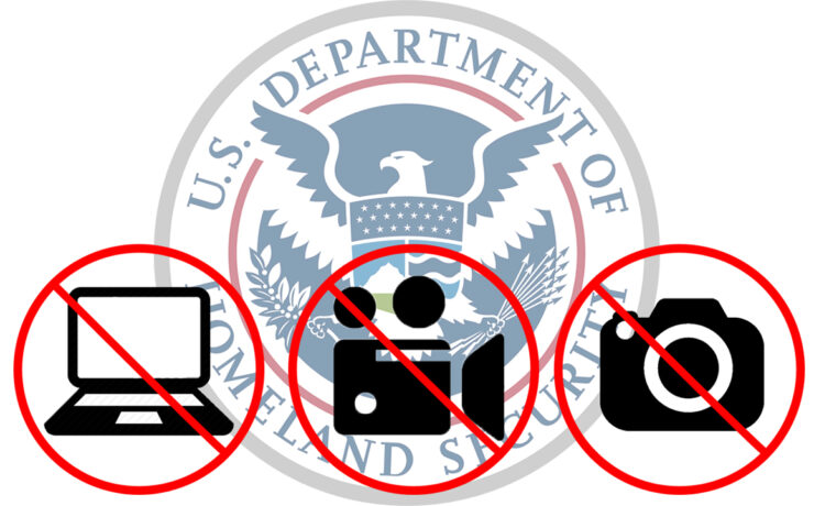 New US Carry-On Restrictions For Large Electronic Devices - UK UPDATE