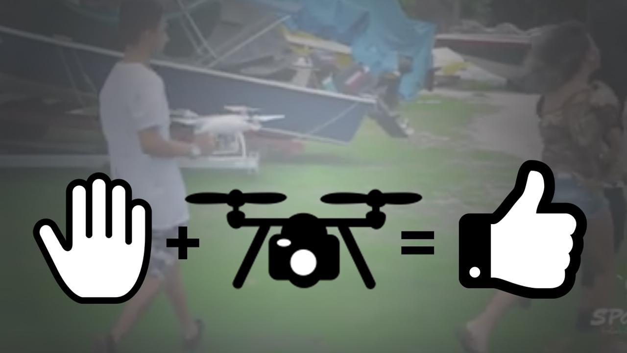 A Handheld Drone - Who Needs a Big Gimbal?