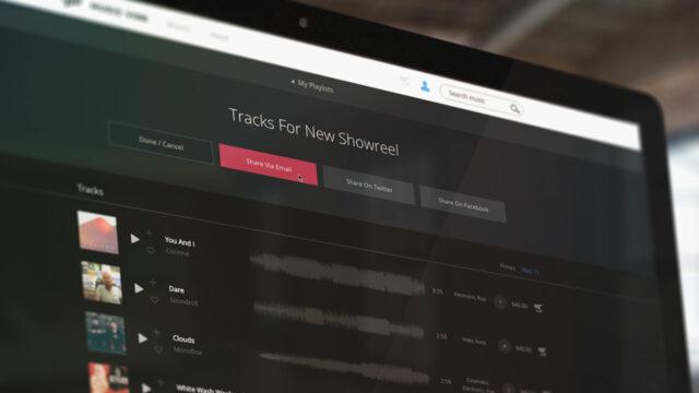 Music Vine music licensing platform playlists