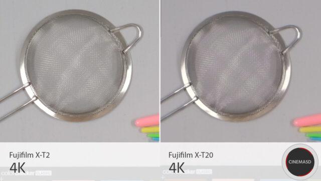Fujifilm X-T20 Image Quality in 4K