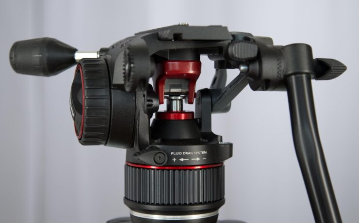Manfrotto Nitrotech N8 - New Compact Video Tripod Head Series