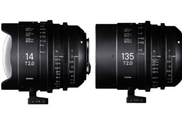 Sigma Announces 14mm and 135mm T2 FF High Speed Prime Cine Lenses