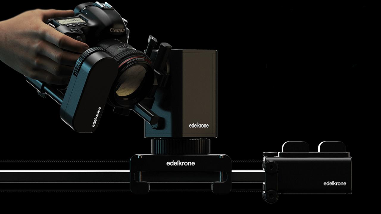 エーデルクローン(Edelkrone)がSliderPlus X と Motion Kitを発表