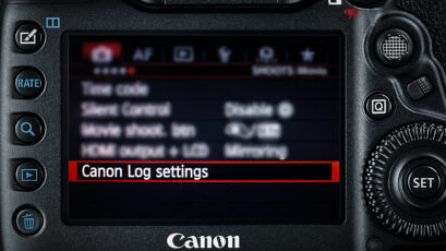 Canon 5D Mark IV Gets C-Log with New Firmware Update