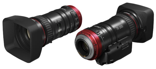 Canon CN-E 70-200mm T4.4 – Canon Completes Line-Up