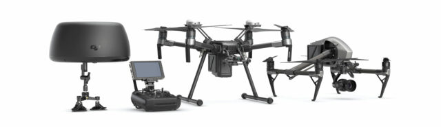 DJI Cendence Hands-On – A Better Remote Controller with Focus Wheel for Inspire 2 & Matrice 200