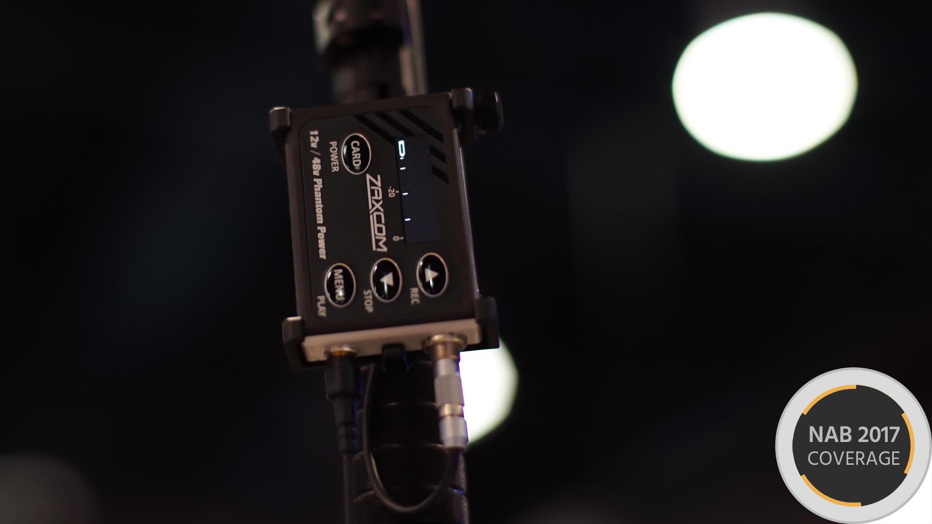 Zaxcomオーディオレコーダー