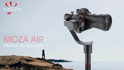 New Gudsen MOZA Air Gimbal With Time Lapse Control App