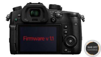 Firmware v1.1 for Panasonic GH5 Enables 10-Bit 4:2:2 FullHD Video