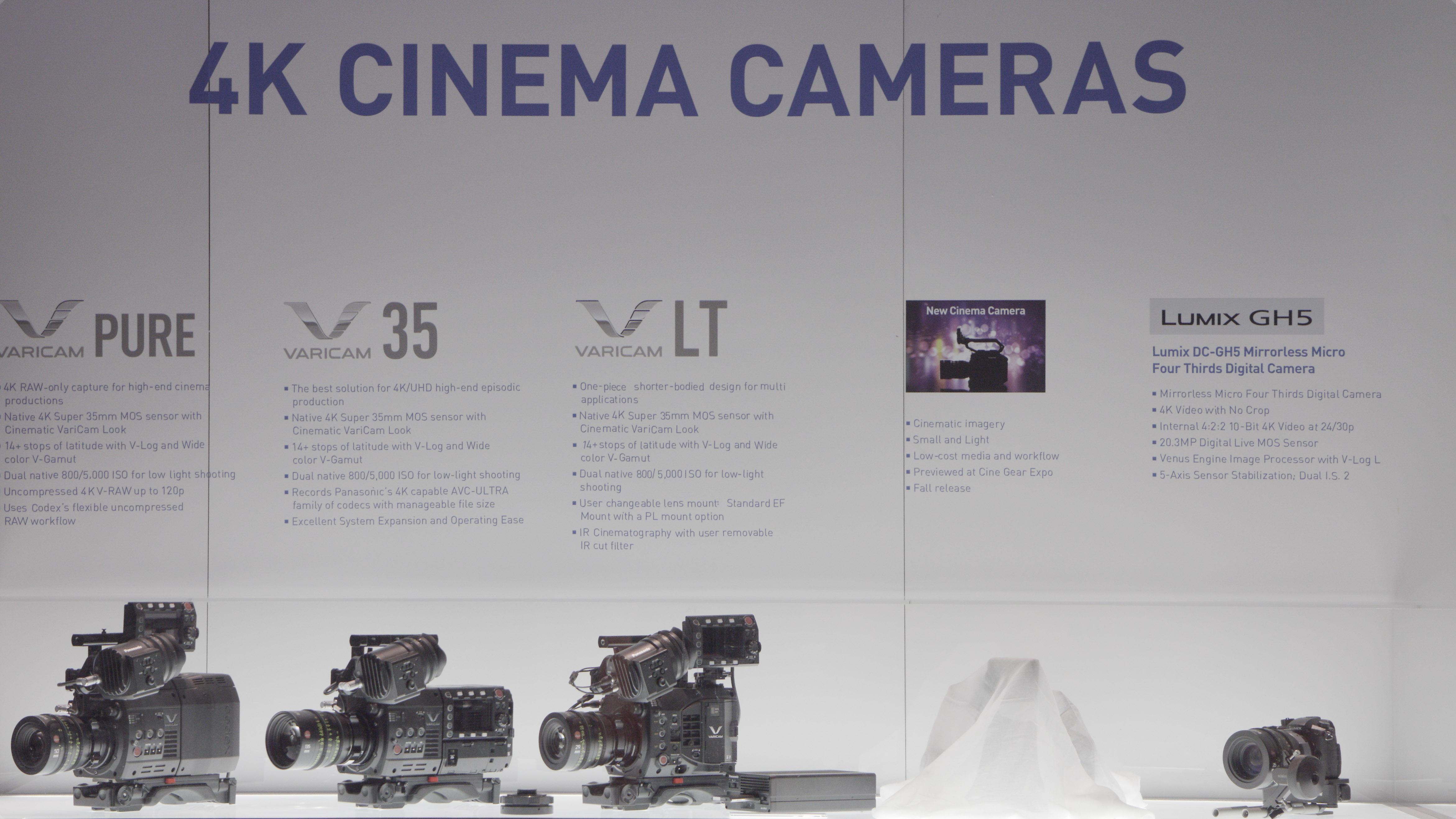 パナソニックの新シネマカメラを予想する