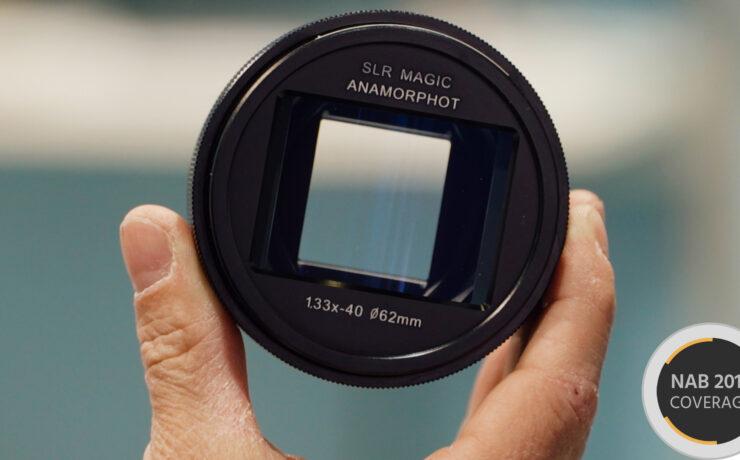 SLR Magic Introduces Anamorphot 1,33x Adapter for 16:9 Sensor Cameras