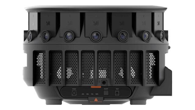 The YI HALO Camera Rig Shoots 8K x 8K Stereoscopic Video