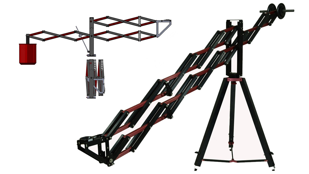 ZoomCrane - The Crane That Offers Fast Set Up and Portability