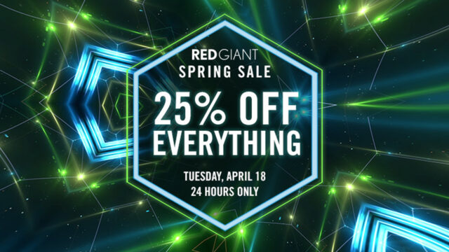 Red Giant Spring Sale