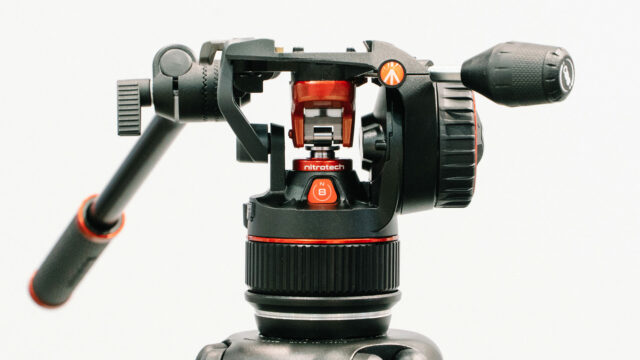 Manfrotto Nitrotech N8 Lightweight Tripod Head for Cinema Cameras