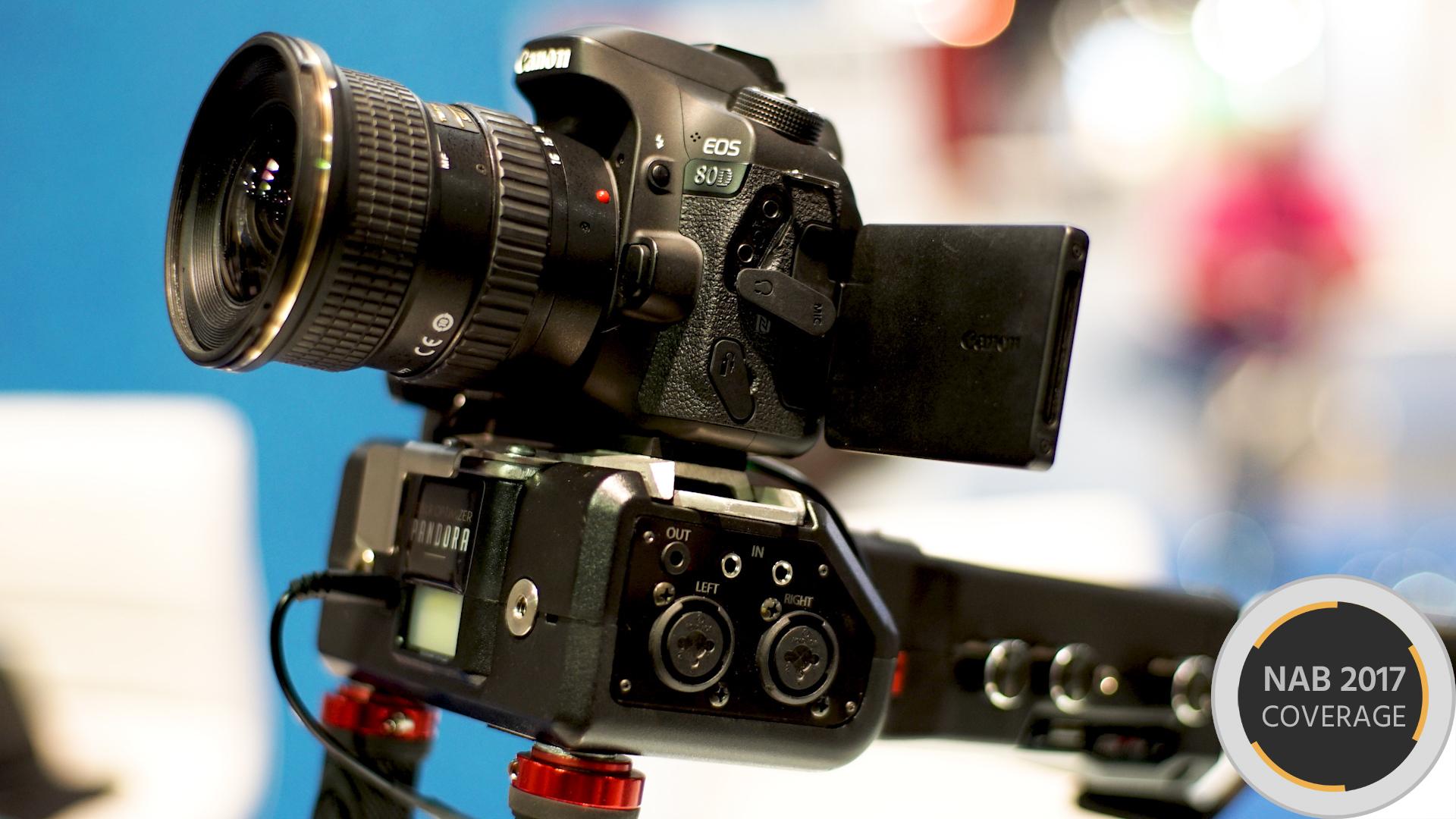 Pandora - DSLRをビデオカメラのように使えるショルダーリグ