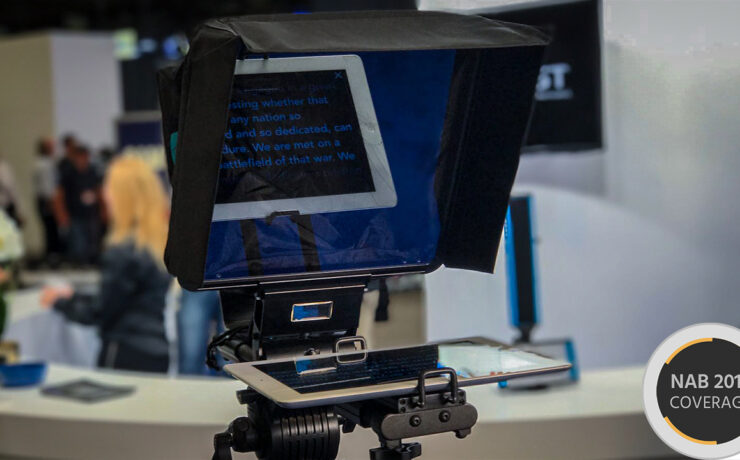 Dracast Magicue iPad Teleprompter with Voice-Recognition Auto-Scroll!