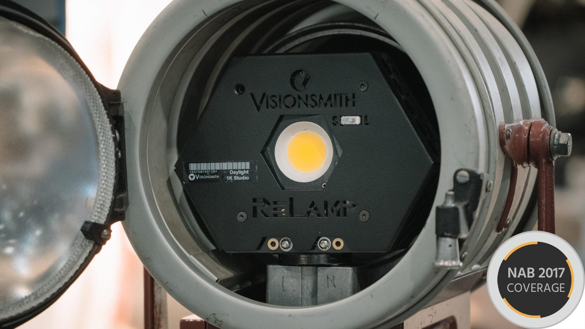 VisionsmithのReLampシステム - 電球だけLEDに交換するという考え方