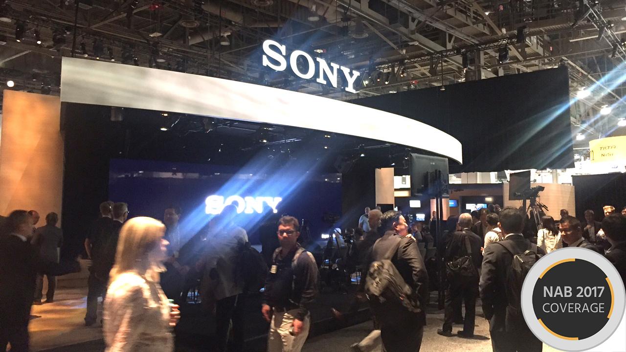 Sony Press Event at NAB 2017