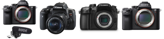 B&H Flash Sale on Sony, Canon and Panasonic Mirrorless Cameras