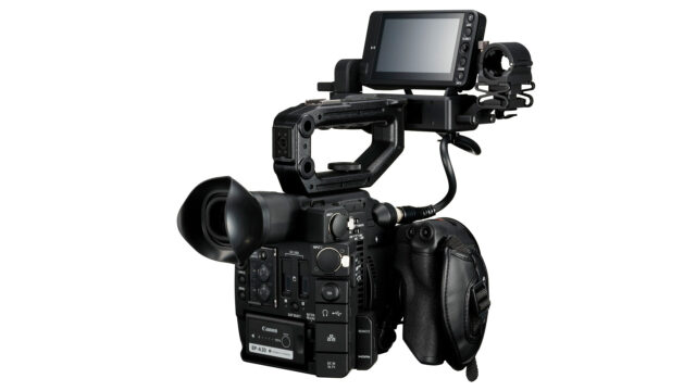 Canon EOS C200 full body