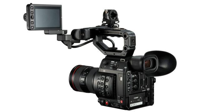 Canon EOS C200 body left