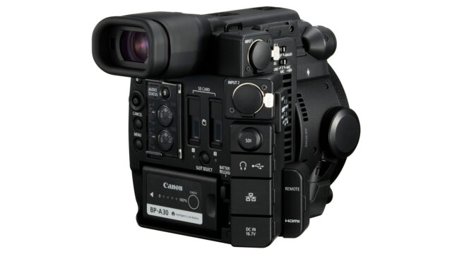 Canon EOS C200 connections