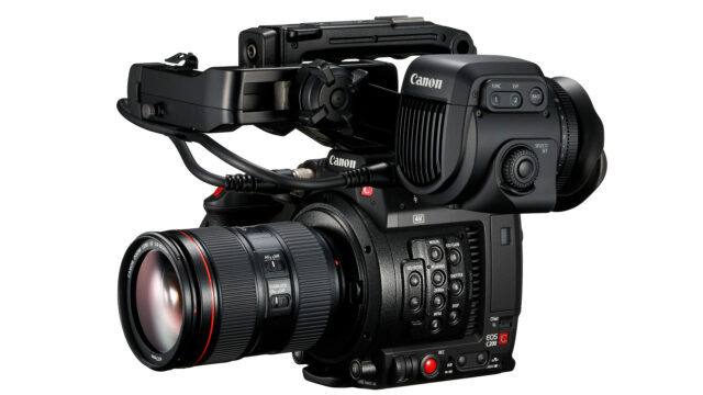 Canon EOS C200 with V70 EVF