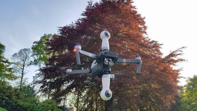 DJI Mavic Pro 3D Printed Camera Mount – Mount 360 Cams, Smartphones or Lights