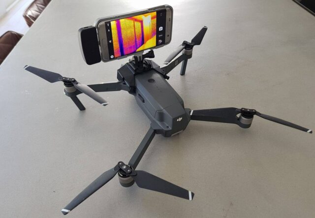DJI Mavic Pro 3D Printed Camera Mount