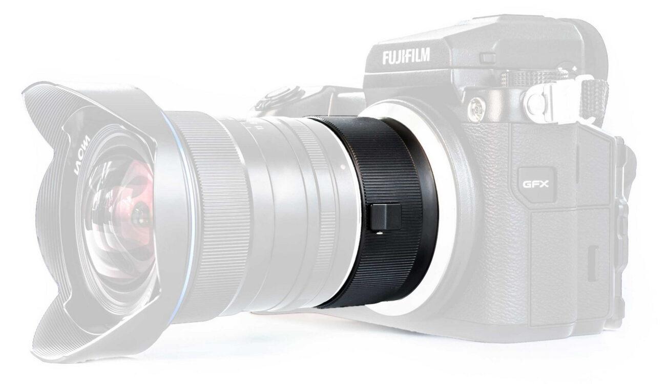 Laowa Magic Format Converter - Full Frame Glass on Medium Format Fujifilm GFX 50S Camera
