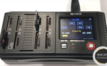 NEXTO DI NCB-20 Card Batcher - Simple Backup of All Your Media