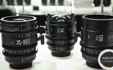 Hands-On with the Latest Sigma Cine Lenses