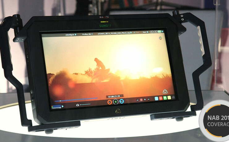 """A Closer Look at The Atomos Sumo 19"""" HDR Monitor"""